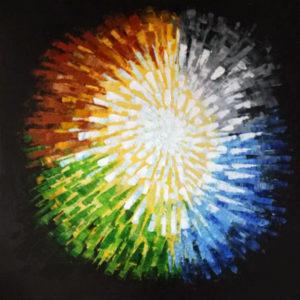 Cuadro de Arte Moderno Oleo sobre Lienzo